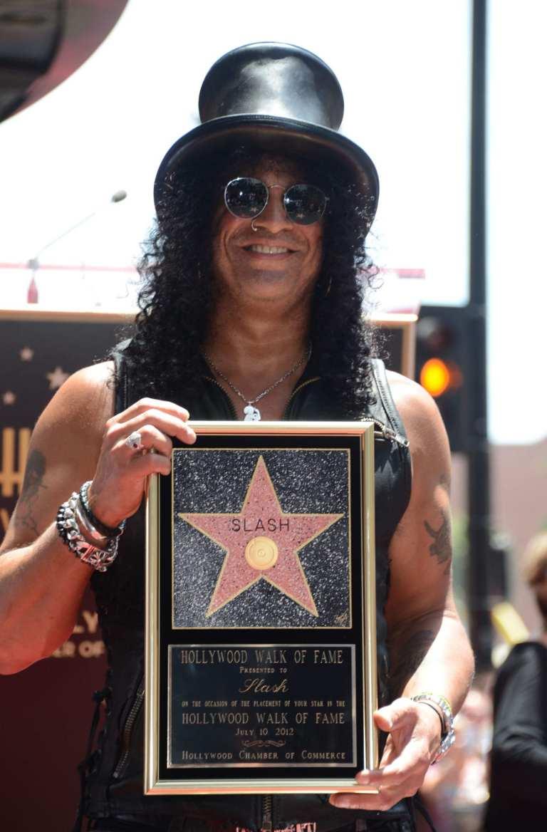 Una stella sulla Walk of Fame per Slash