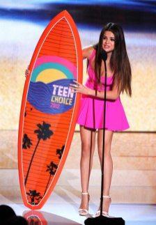 Selena Gomez sul palco | © Kevin Winter/Getty Images