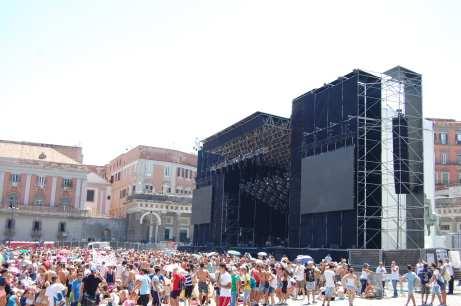 Ligabue - Sotto Bombardamento Rock in Napoli - Ph Angelo Moraca