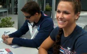 Screenshot - Call Me Maybe - 2012 USA Olympic Swimming Team