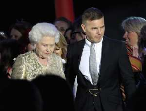 Gary Barlow & Regina Elisabetta