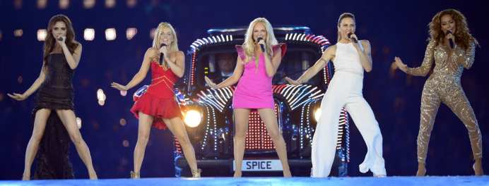 Performance delle Spice Girls