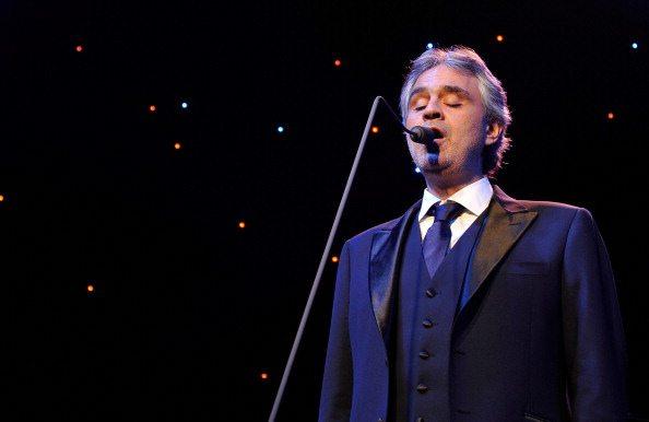 Andrea Bocelli presenta la nona edizione del Teatro del Silenzio