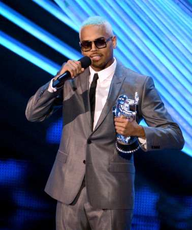 Chris Brown premiato agli MTV VMA 2012 | © Kevin Winter/Getty Images