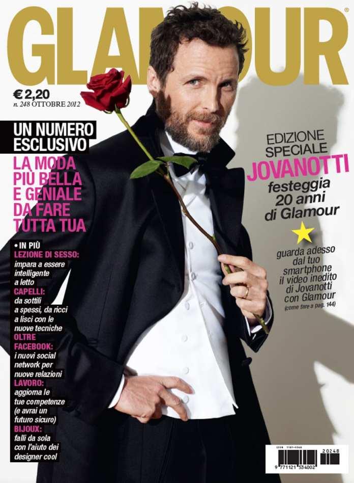 Jovanotti primo uomo sulla cover di Glamour per i 25 anni di carriera
