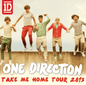 One Direction - Take Me Home Tour 2013