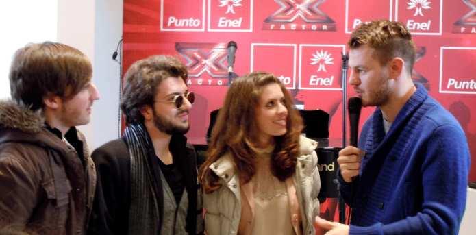 MelodicaMente incontra gli Akmé al Punto Enel X Factor. Foto e Video