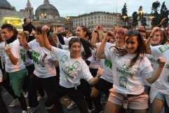 Flash Mob organizzato a Roma
