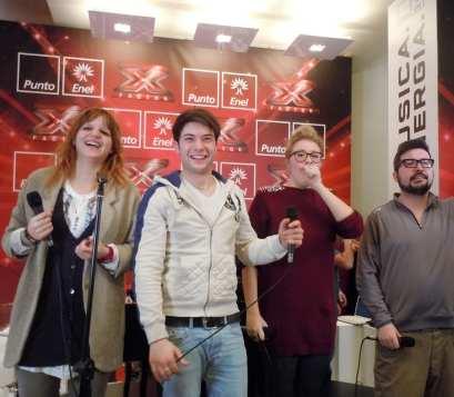 I 4 finalisti di X Factor, edizione 6