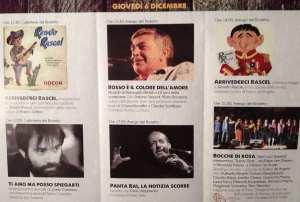 Programma Giovedì 6 Dicembre 2012 - Il Tenco a Novara