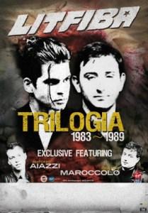 Litfiba - Trilogia 1983-1989 - Locandina