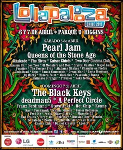 Lollapalooza Cile