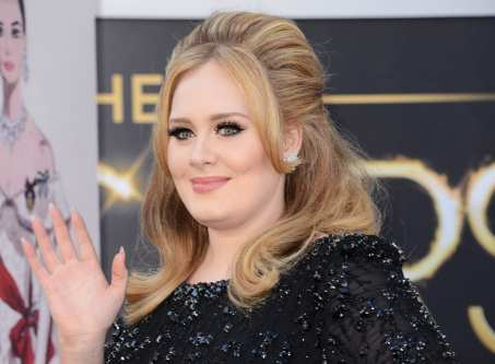 Adele arriva agli Oscar 2013 | © Jason Merritt/Getty Images