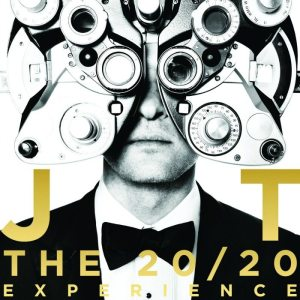 "Artwork ""The 20/20 Experience"" Justin Timberlake"