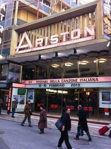 Sanremo Teatro Ariston | © Fabio Fazio Official Twitter