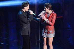 Simona Molinari and Peter Cincotti   © Daniele Venturelli/Getty Images