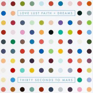 Thirty Seconds To Mars - Love Lust Faith + Dreams - Artwork