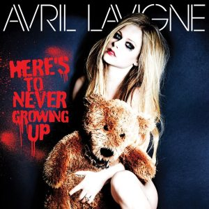 Avril Lavigne - Here's To Never Growing Up - Artwork