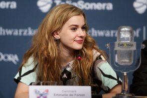 Emmelie de Forest in conferenza stampa | © Ragnar Singsaas/Getty Images