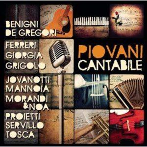 "Nicola Piovani - ""Cantabile"" - Artwork"