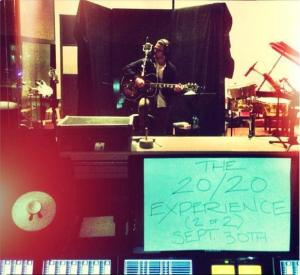 Justin Timberlake - The 20/20 Experience (2 of 2) - Instagram