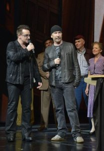 Bono & The Edge - © Eugene Gologursky/Getty Images for Spider-Man Turn Off The Dark)
