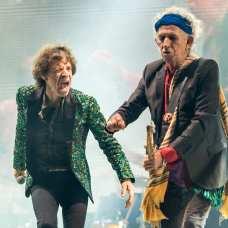 Keith Richards e Mick Jagger   © Ian Gavan/Getty Images