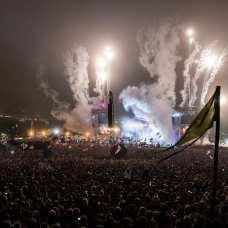 Glastonbury Festival in delirio per i Rolling Stones   © Ian Gavan/Getty Images