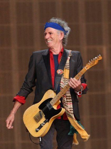 Keith Richards   © Simone Joyner/Getty Images