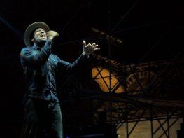 Ben Harper sul palco del Pistoia Blues Festival | © Melodicamente