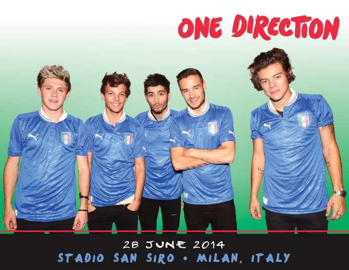 One Direction tornano live in Italia, appuntamento a San Siro