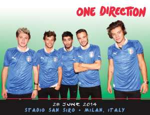 One Direction in concerto a San Siro