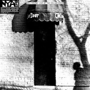 Nei Young - Live at the Cellar Door - Artwork