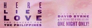 David Byrne Here Lies Love - Official Artwork