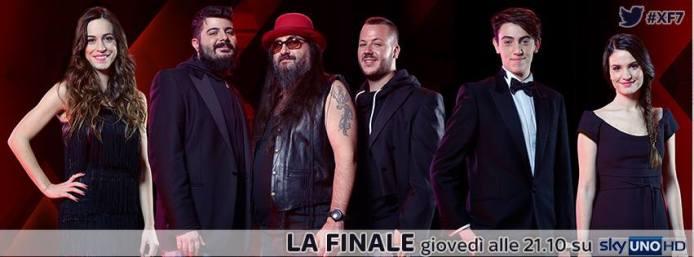 X Factor 7, con Mengoni e Giorgia i duetti della finale