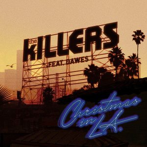 The Killers - Christmas in L.A. - Artwork