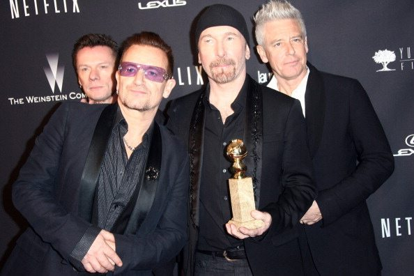 U2 Golden Globe 2014 | © Tommaso Boddi / Getty Images