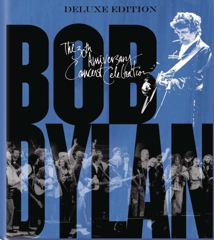 Bob Dylan, il DVD del concerto del '92 per i 30 anni di carriera.
