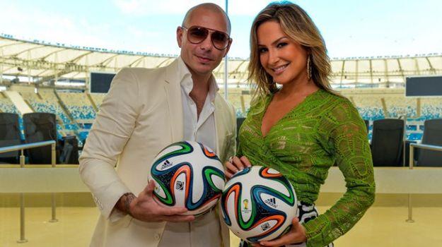"""Pitbull e Claudia Leitte -""""We Are One (Ole Ola)"""" per Brasile 2014"""