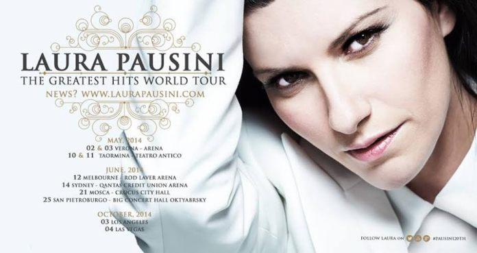 Laura Pausini aggiunge nuove date al tour