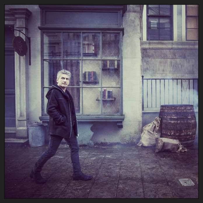 Ligabue sul set del video |©  Facebook Official