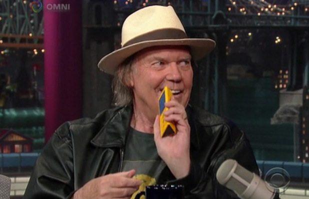 Neil Young, al via il progetto PONO per la musica in high definition
