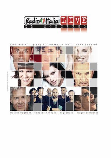 Antonacci, Pausini, Negramaro nel cast di RadioItaliaLive