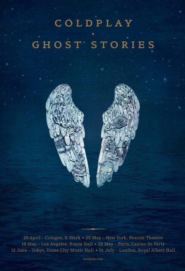 Coldplay, il mini-tour di 6 concerti