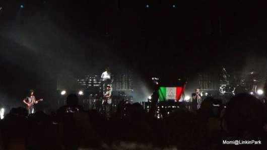 Joe Hahn e Mike Shinoda | Linkin Park live Milano | © Momi