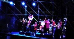 La Fantomatik Orchestra sul palco del Pistoia Blues | © Melodicamente