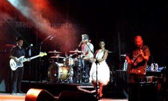 Skye sul palco del Pistoia Blues | © Melodicamente