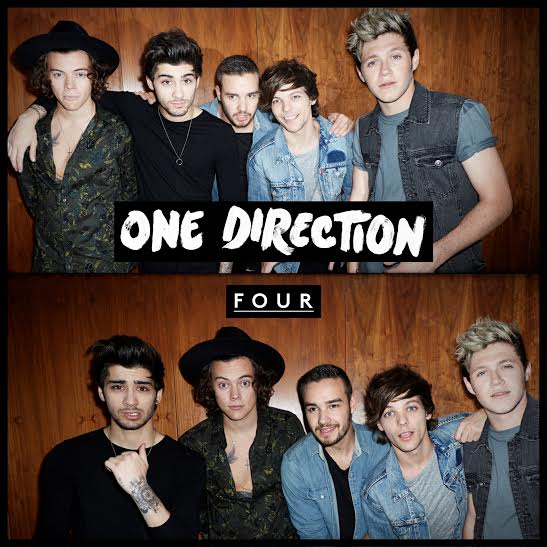 One Direction - Four - Artwork