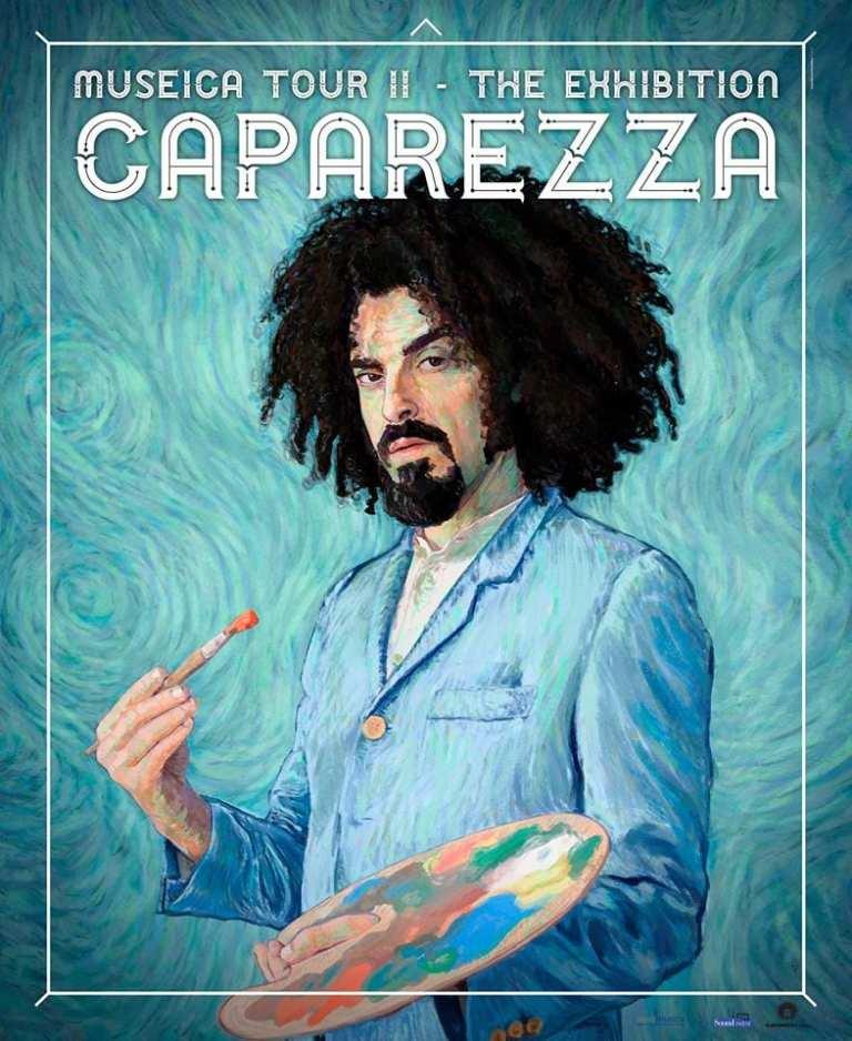 """Caparezza, da Febbraio (ri)parte il """"Museica Tour"""""""