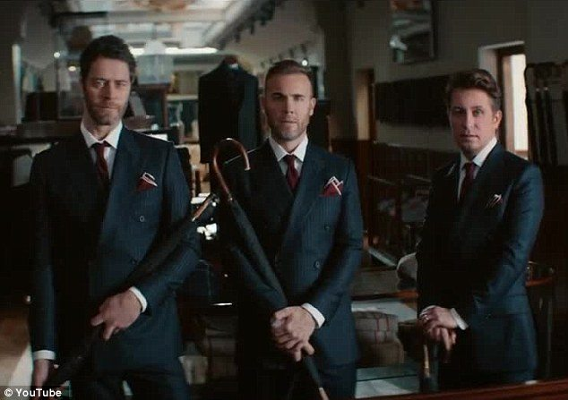 "Take That: il video di ""Get ready for it"", colonna sonora di ""Kingsman"""